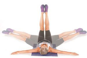 Fitness tip 38 windshield wiper abs floor exercise for Floor exercises for abs
